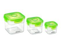 Вакуумні контейнери для зберігання 3 шт. MultiFresh