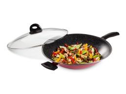 Сковорідка Вок 35 см + кришка у подарунок