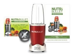 NutriBullet 600 Вт (червоний) Nutribullet