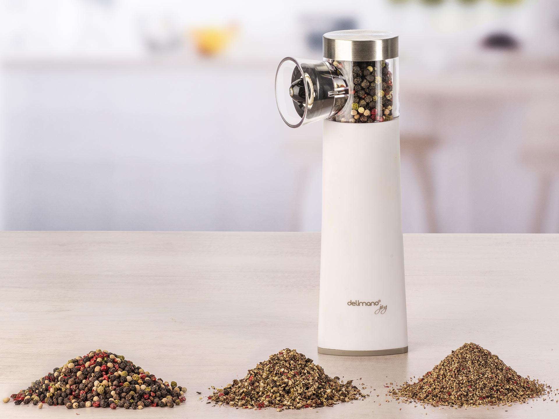 Delimano / Автоматичний млинок для солі та перцю Joy