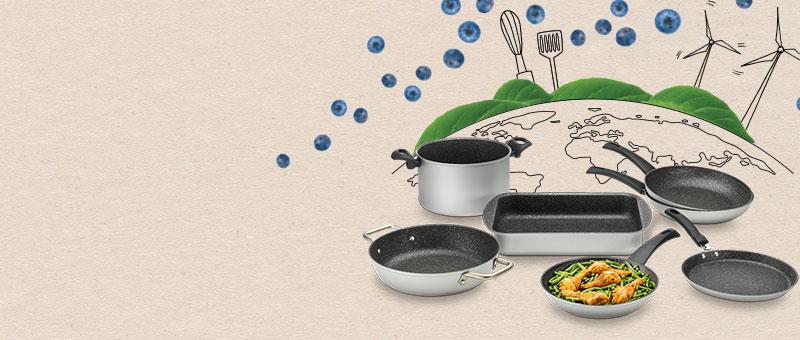 Лінійка екологічного посуду Green Planet!