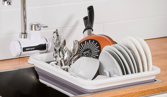 Delimano Brava Collapsible Dish Rack